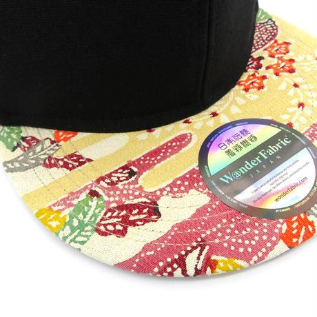 BLACK&RYUKYUBINGATA CAP-XL-