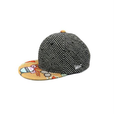 OLD KIMONO CAP-XL-:210108