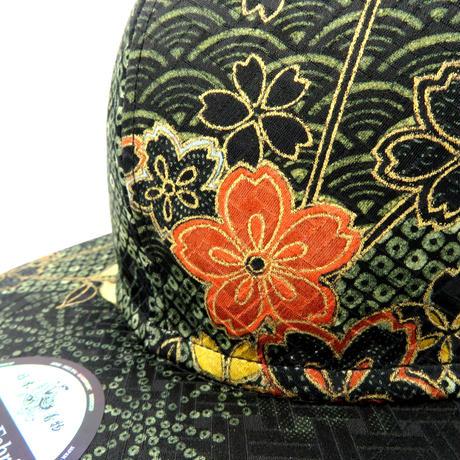 京友禅CAP:GREEN