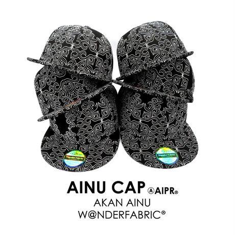 AINU CAP:BLACK