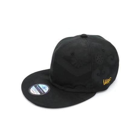KIMONO CAP ALLBLACK:19053