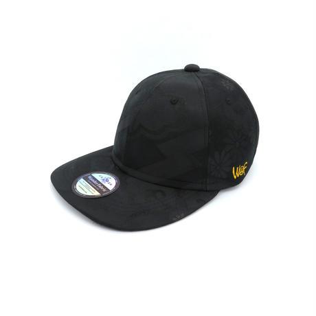 KIMONO CAP ALLBLACK:19050