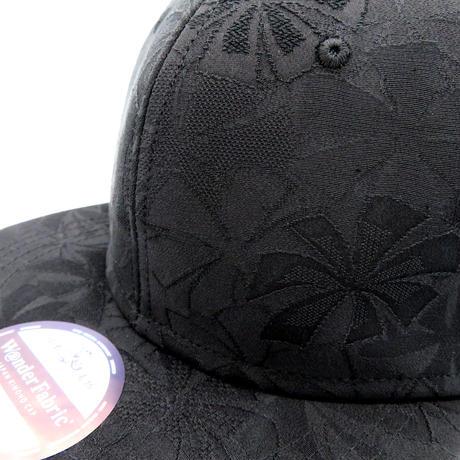 KIMONO MESH CAP-XL-:ALL BLACK 2078
