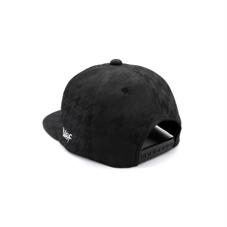 INDEN&HUJIYAMAORI CAP:BLACK