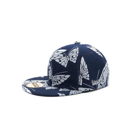 AWA I ZOME TSUMUGI CAP
