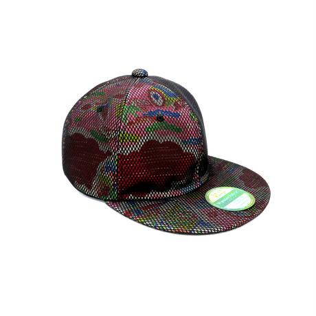 KIMONO IN MASH CAP:210526