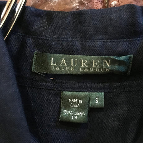 LAUREN LADIES LINEN SHIRT