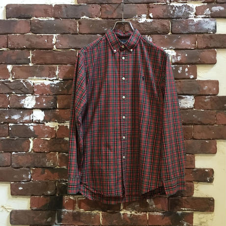 RALPH LAUREN LADIES COTTON CHECK SHIRT