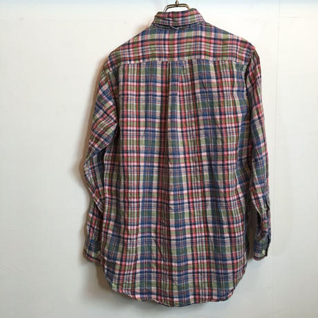 BROOKS BROTHERS LINEN B/D SHIRT