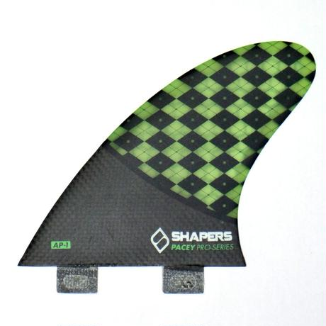 "SHAPERS FIN ""AP01"" TRI FIN SET"