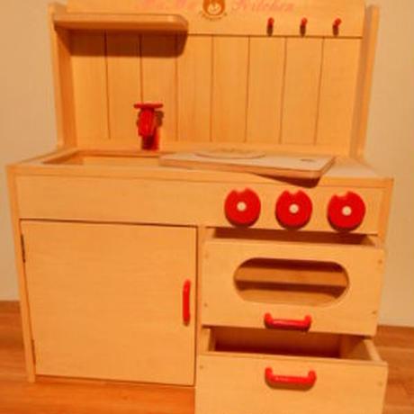 木製ママキッチン