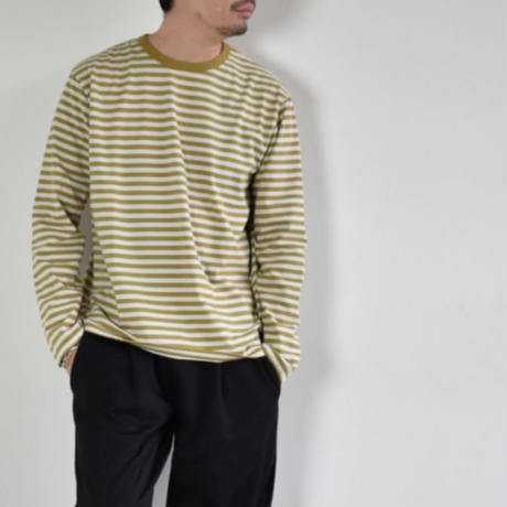 nanamica COOLMAX ST. JERSEY L/S TEE SUHS851