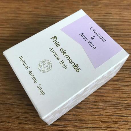 Natural Aroma Soap 90g【ラベンダー&アロエベラ】
