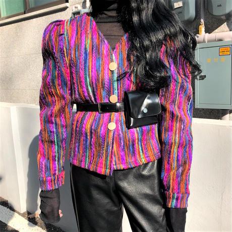 Purple Unique Cardigan