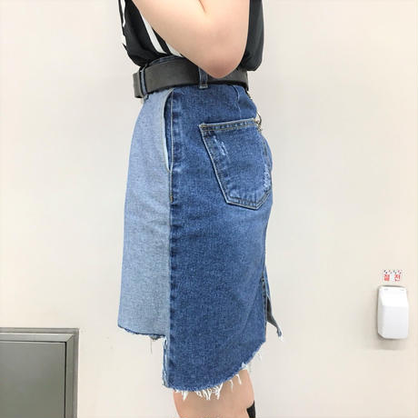 Design Denim Skirt