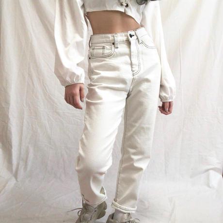 Stitch Jeans  ( 2color )
