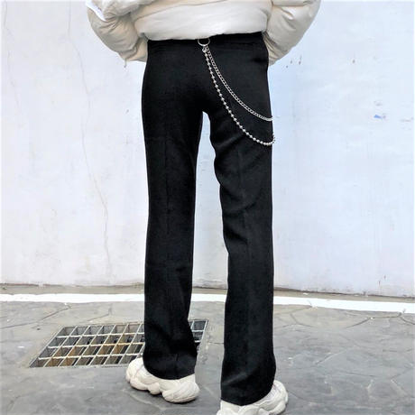 Slim Slacks Pants