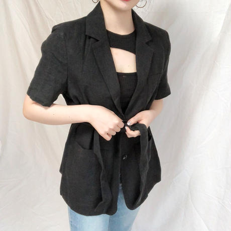 Linen Belt Jacket(2colours)