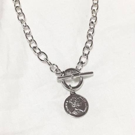 Coin Silver Necklace