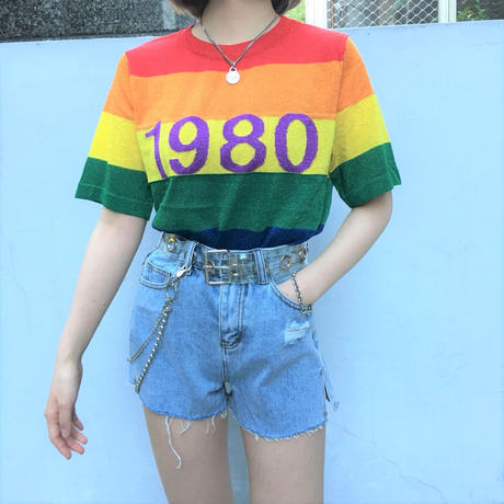 1980 Rainbow Tee