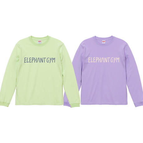 Elephant Gym Long-Sleeve T 2021 (Light Purple)