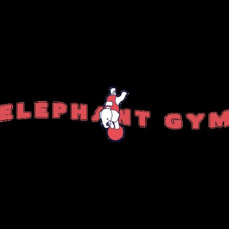 Elephant Gym Denim Hoodie(刺繍)