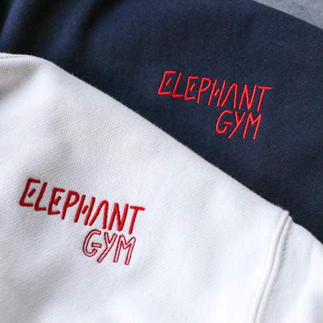 Elephant Gym Sweat Shirt 2021 (White / Heavy-Weight 12.7oz)