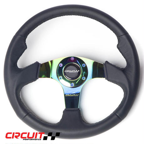 【Circuit Performance ステアリングホイール ネオクローム Race】