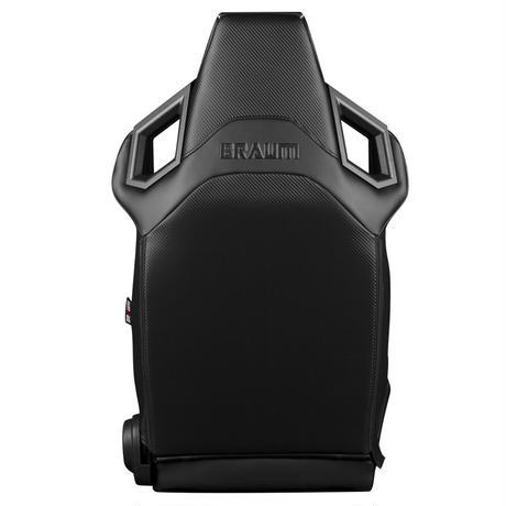 2脚【Braum Racing Alpha-X レッドクロス&ブラックステッチ】