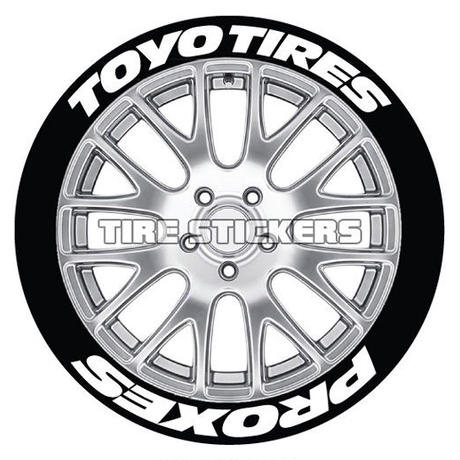 8枚【Toyo Tires PROXES タイヤステッカーセット】