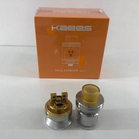 Kaees SOLOMON RTA 24mm SILVER