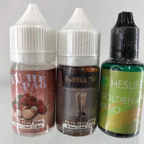 HESLIFE 電子タバコ リキッド 台湾MADE 30ml