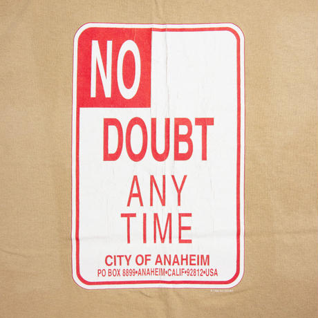"""'95 No Doubt """"Any Time City of Anaheim"""""""