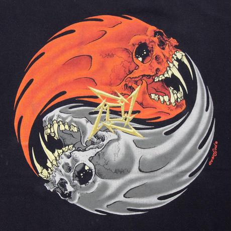 """90's Metallica """"REBEL"""" Pushead"""