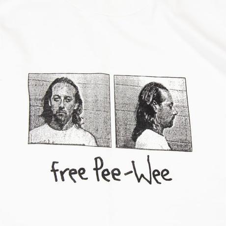 "90's Pee-Wee Herman ""Mug Shot"""