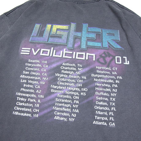 "Usher ""Evolution 8701"" Tour"