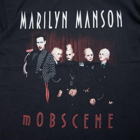 "'2003 Marilyn Manson ""mOBSCENE"""