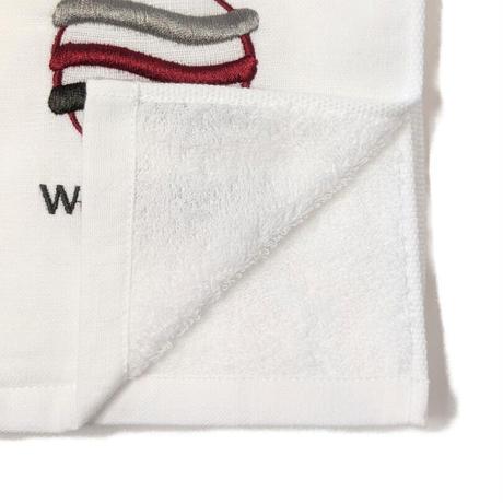 「よく吸ってすぐ乾くスポーツタオル」(ホワイト)