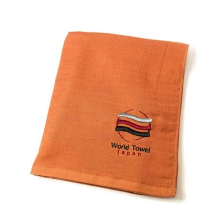 「よく吸ってすぐ乾くスポーツタオル」(オレンジ)