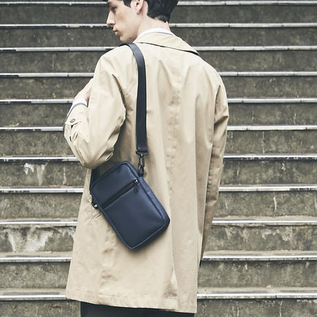 【HUNT】Square mini shoulder/NAVY (VBOM-4640)