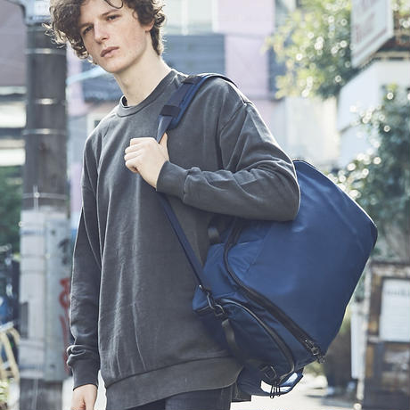 【CITY】TRAVEL BACKPACK /NAVY(VBOM-4502)