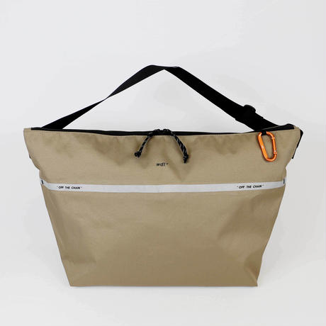 Reflective Cordura Big Shoulder / BEIGE (VBOM-5148)
