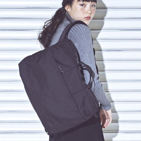 【CITY】COMMUTER SQUARE /BLACK (VBOM-3840)