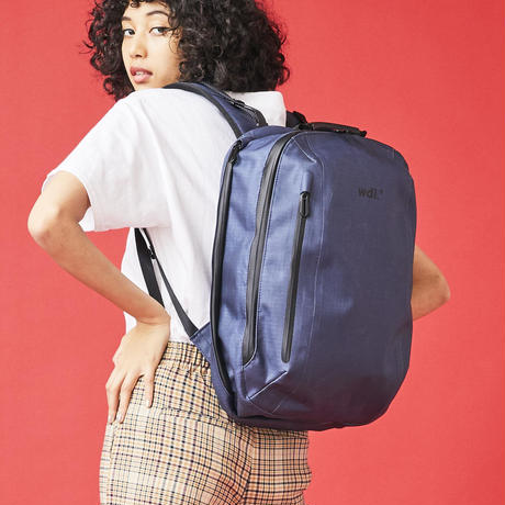 'DRY PACK'serise -CITY ROUNDPACK / NAVY (VBOF-4951)
