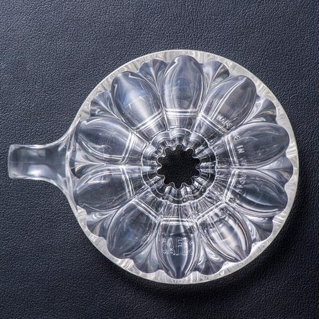 円すいフラワードリッパー樹脂製 Cup4〈2~4杯用〉白色メジャースプーン付き