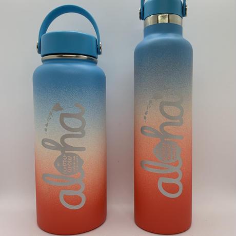 【ラス1】ワウワウレモネード Hydro Flask シェイブアイスコレクション日本仕様 (Coconut Rainbow) 32oz ワイドマウス