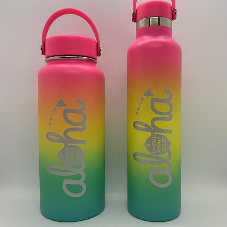 【限定】ワウワウレモネード Hydro Flask シェイブアイスコレクション日本仕様 (Hawaiian Rainbow) 24oz  スタンダードマウス
