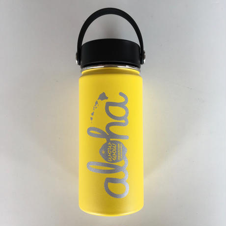 【再入荷】ワウワウレモネード Hydro Flask 日本仕様 イエロー 16oz ワイドマウス