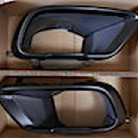 BMW純正 G05 X5 G06 X6 G07 X7 用M PERFORMANCEマットブラックテールパイプトリムセット