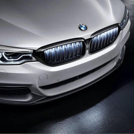 BMW純正部品 Iconic Glow フロントグリル for G30 G31 5シリーズ US仕様スイッチ付